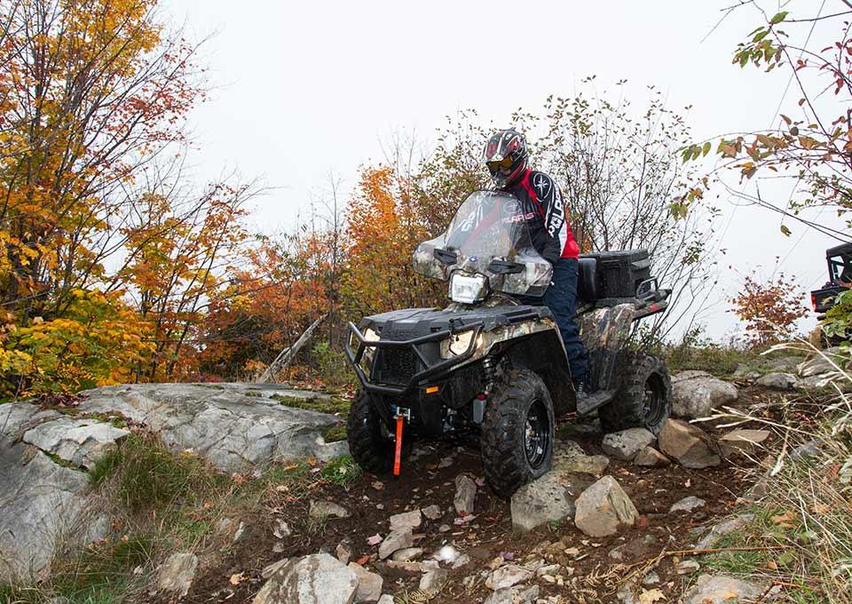 Atving In Algoma Northern Ontario Canada