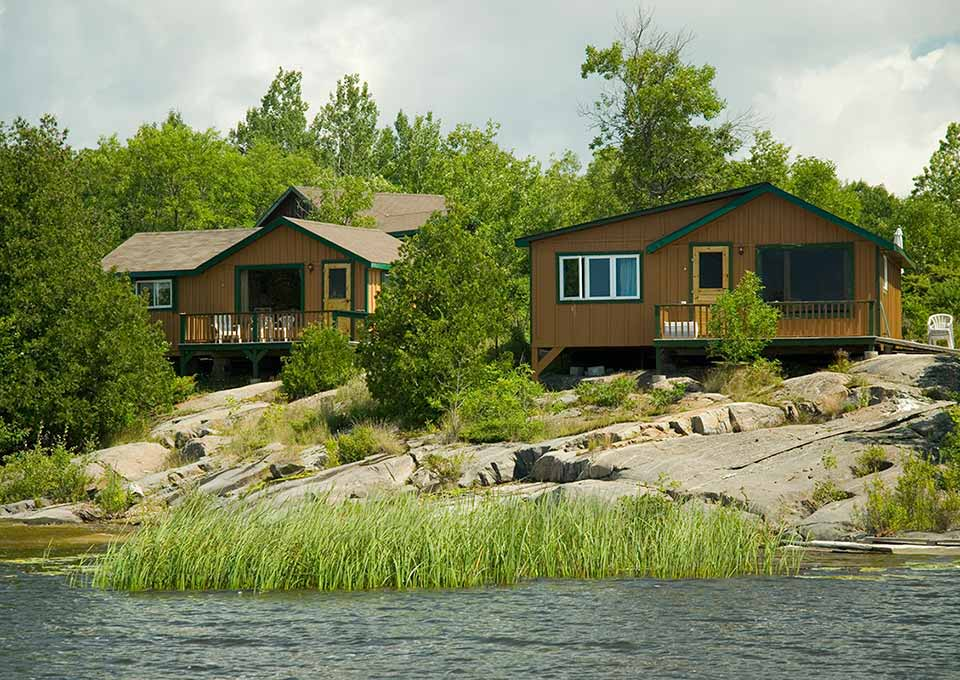 Brennan harbour resort spanish northern ontario canada for Ontario drive in fishing lodges