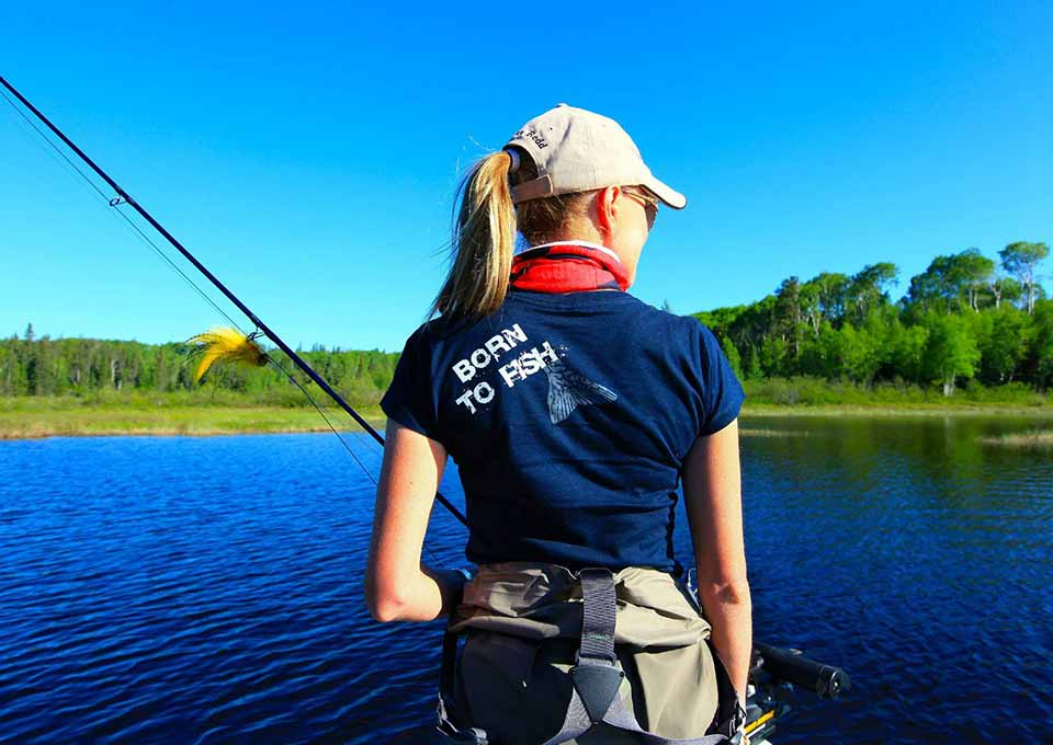 Fly fishing in northern ontario canada for Free fishing catalogs