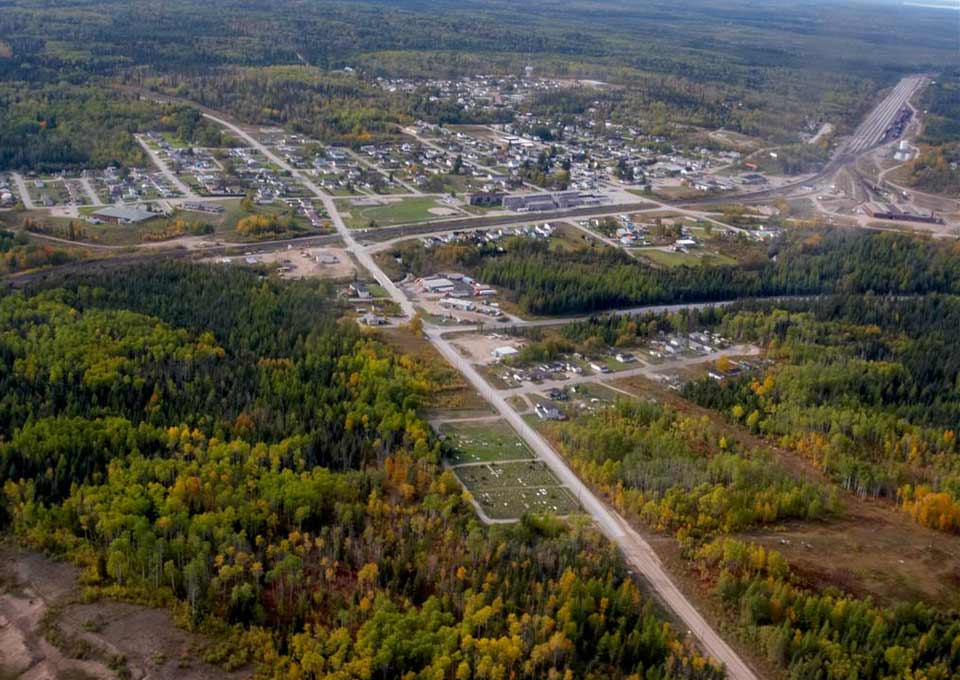 Hornepayne, Northern Ontario, Canada
