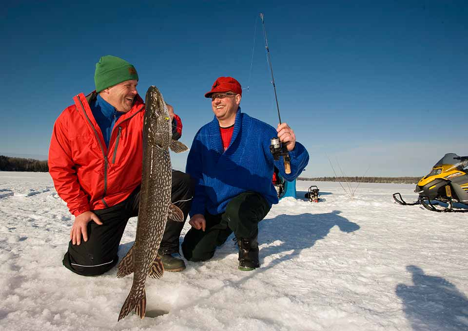 Ice Fishing in Northern Ontario