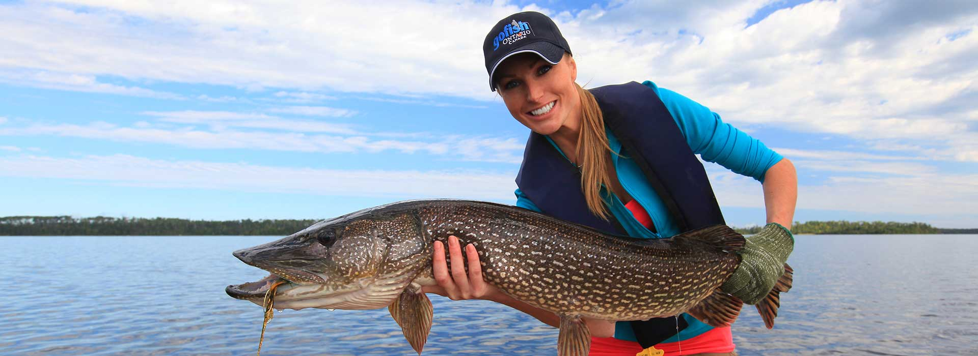 Northern pike fishing algoma northern ontario canada for Best canadian fishing lodges