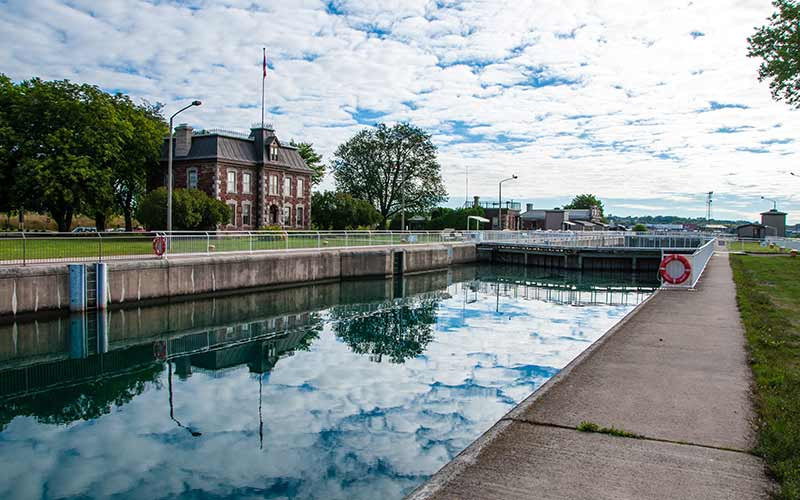 Sault Ste Marie Canal National Historic Site Parks