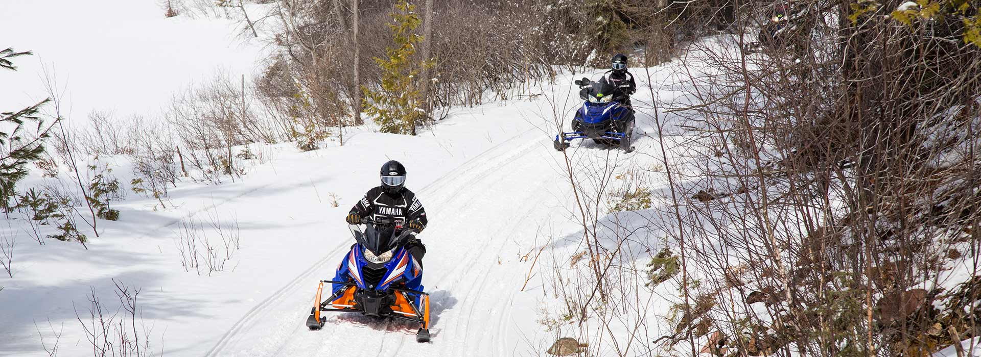 Snowmobiling In Northern Ontario Canada Algoma Country