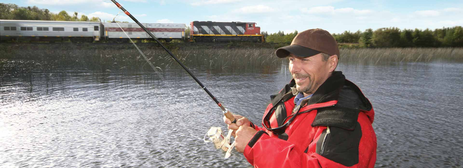 train-in-fishing