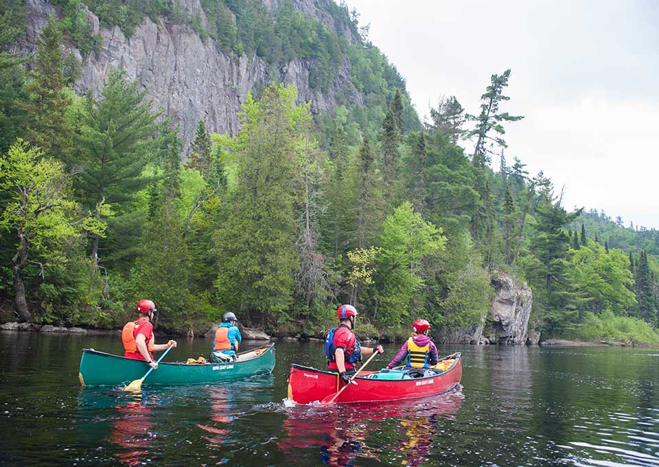 Canoeing In Algoma Northern Ontario