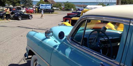 Hilton Beach Classic Car Show
