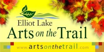 arts on the trail elliot lake logo