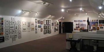 art gallery at timber village museum
