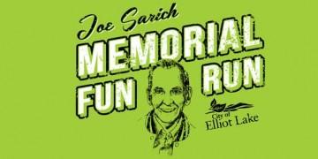 joe sarich memorial fun run logo