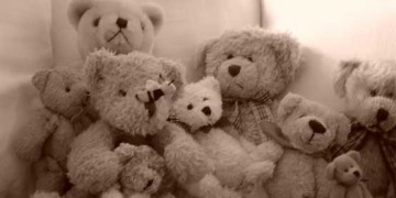 group of teddy bears