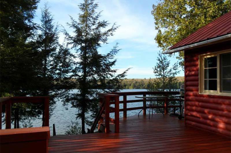 Outstanding Cottage Rentals On Chub Lake Limberlost Lodge Thessalon Interior Design Ideas Skatsoteloinfo