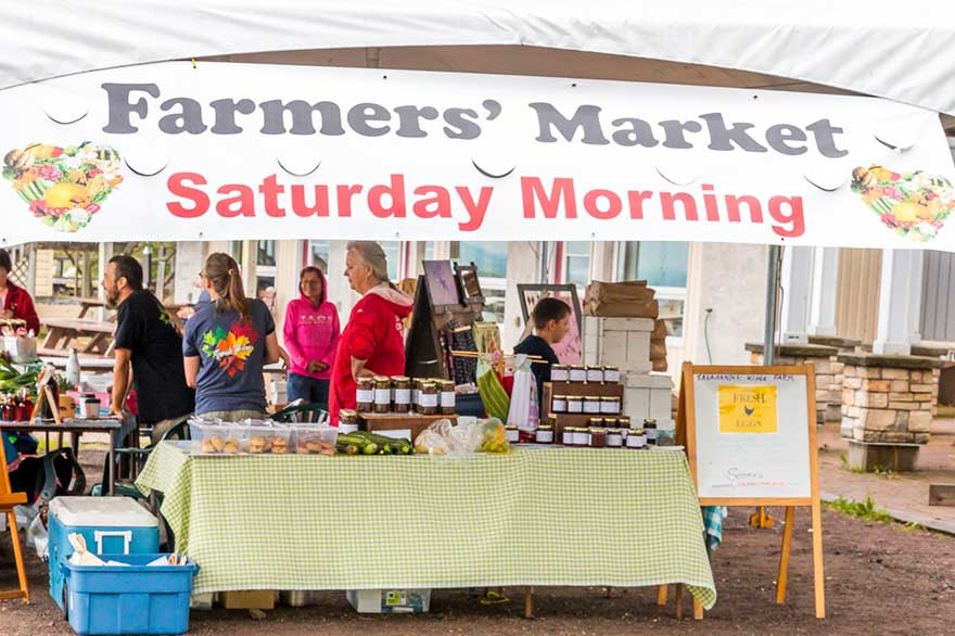 Hilton-Beach-Farmer's-Market-Saturday-Morning