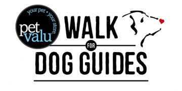 Pet Valu Walk for Dog Guides Logo