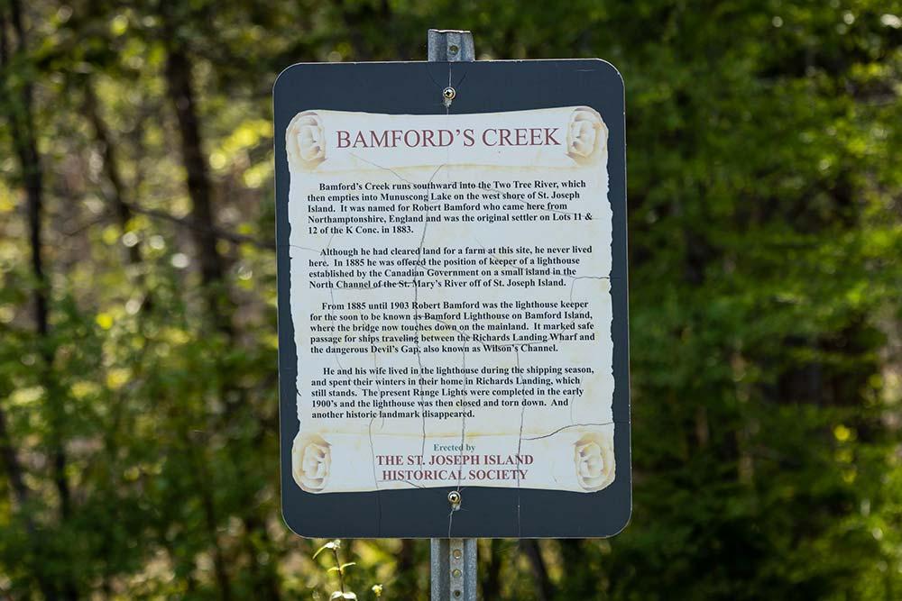 7-Bamford's-Creek-SJIHS-Sign