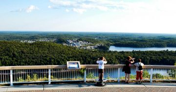 firetowerlookout-elliot-lake-summer